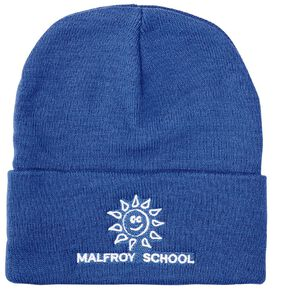 Schooltex Malfroy Beanie with Embroidery
