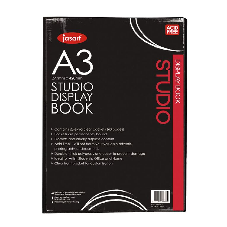 Jasart Studio Art Display Book A3, , hi-res