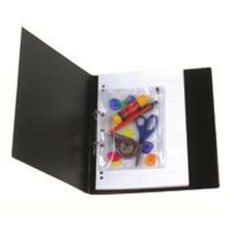 Marbig Bindermate Pencil Case Clear A5, , hi-res