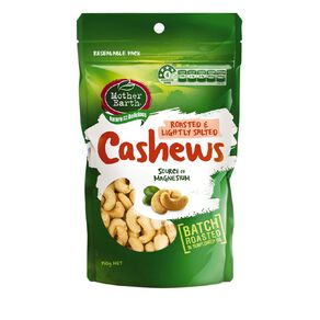 Mother Earth Cashews Roast Light Salted 150g