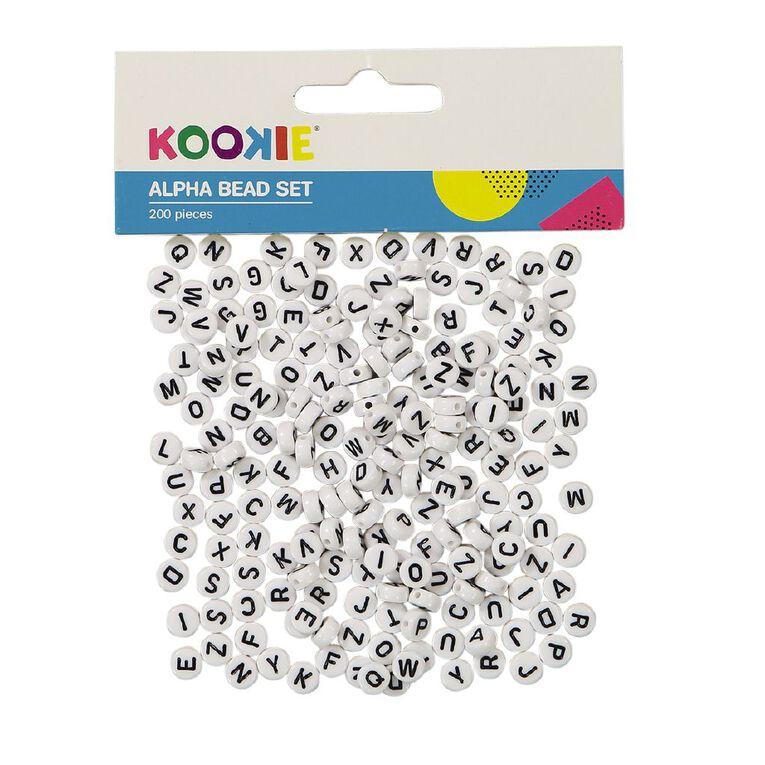 Kookie Alphabet Bead Set, , hi-res