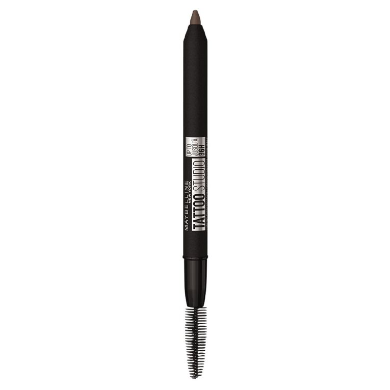 Maybelline Tattoo Brow 36hr Eyebrow Pencil Deep Brown, , hi-res