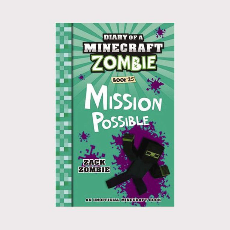 Minecraft Zombie #25 Mission Possible by Zack Zombie, , hi-res