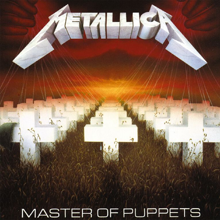 Master Of Puppets Vinyl by Metallica 1Record, , hi-res