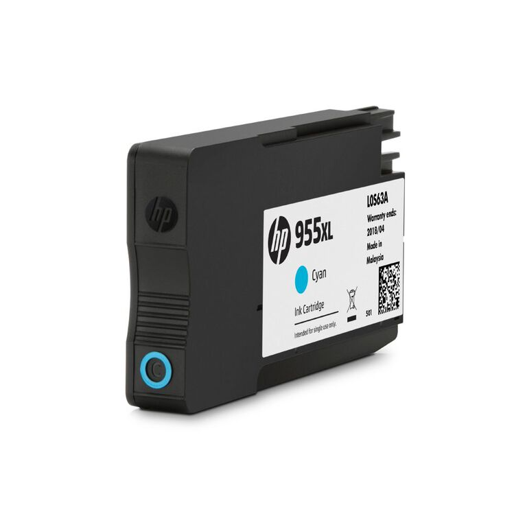 HP Ink 955XL Cyan (1600 Pages), , hi-res