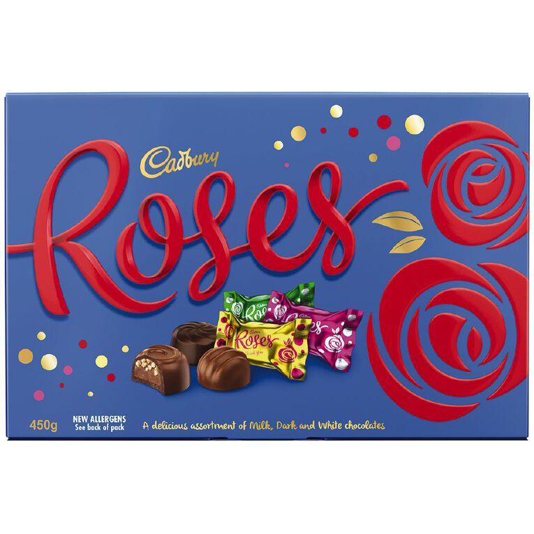 Cadbury Roses Chocolates 450g, , hi-res