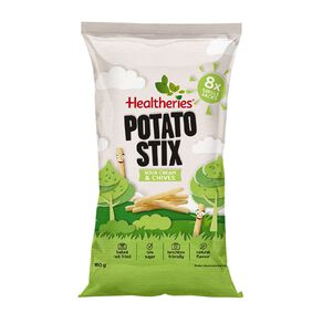 Healtheries Potato Stix Sour Cream & Chives 8 Pack