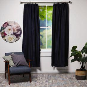 Living & Co Subway Curtains Midnight Blue Dark 150-230cm Wide/160cm Drop