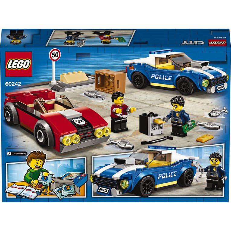LEGO City Police Highway Arrest 60242, , hi-res