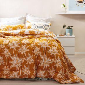 Living & Co Comforter Set 3 Piece Sundaze Yellow