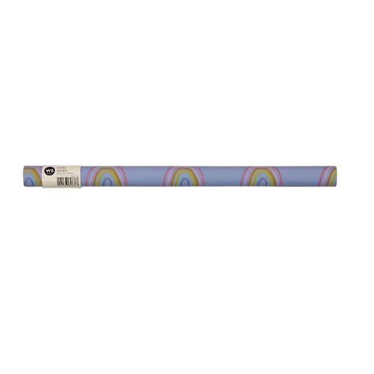 WS Book Cover Rainbow 45cm x 1m, , hi-res image number null