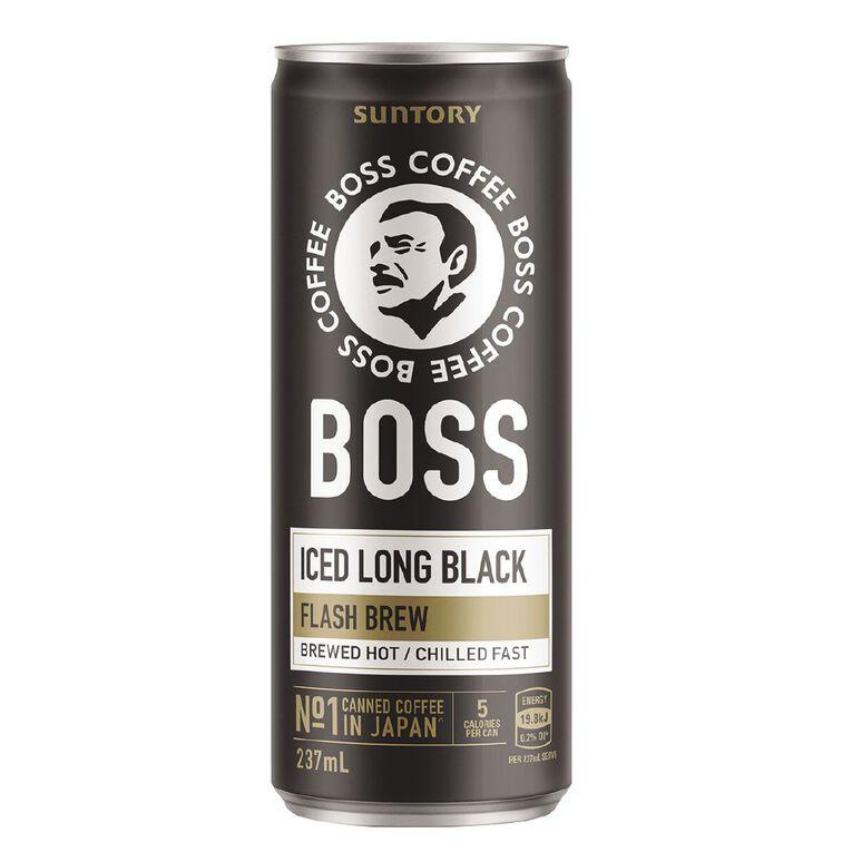 BOSS Coffee Iced Long Black 237ml, , hi-res