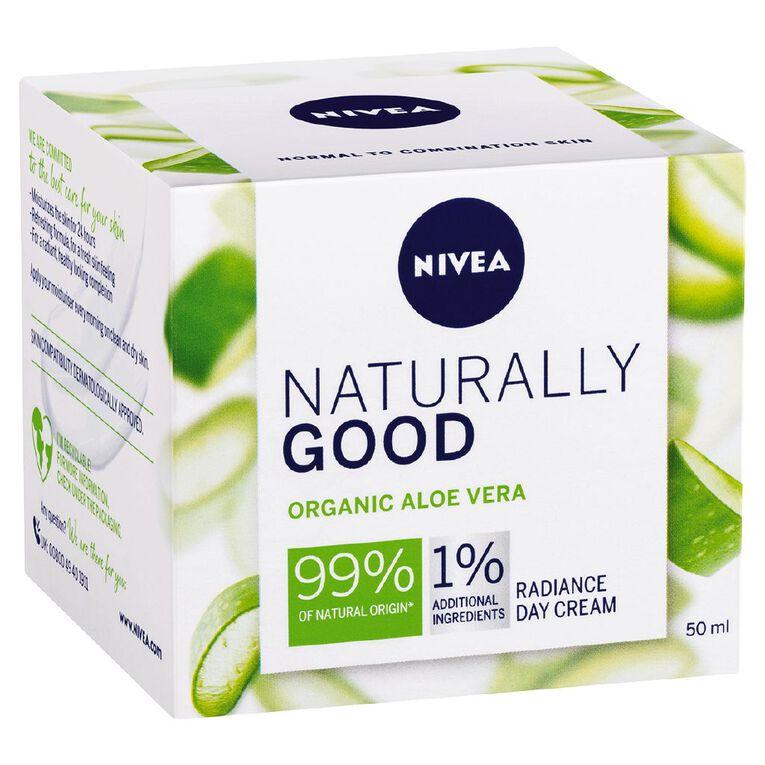 Nivea Naturally Good Radiance Day Cream 50ml, , hi-res