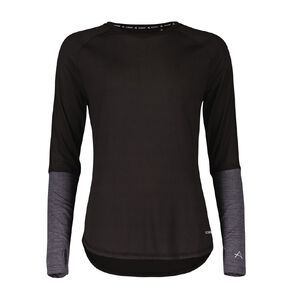 Active Intent Women's Long Sleeve Colour Block Tee