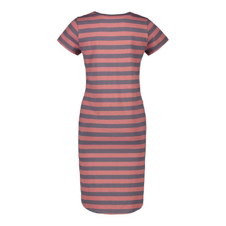 H&H Maternity Button Front Dress, Multi-Coloured, hi-res