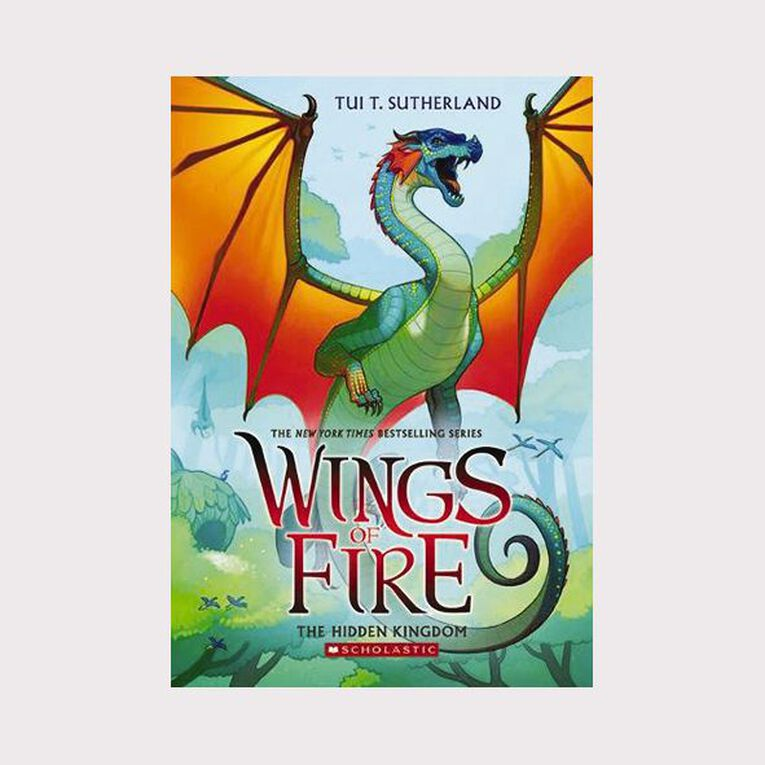 Wings of Fire #3 Hidden Kingdom by Tui T Sutherland, , hi-res