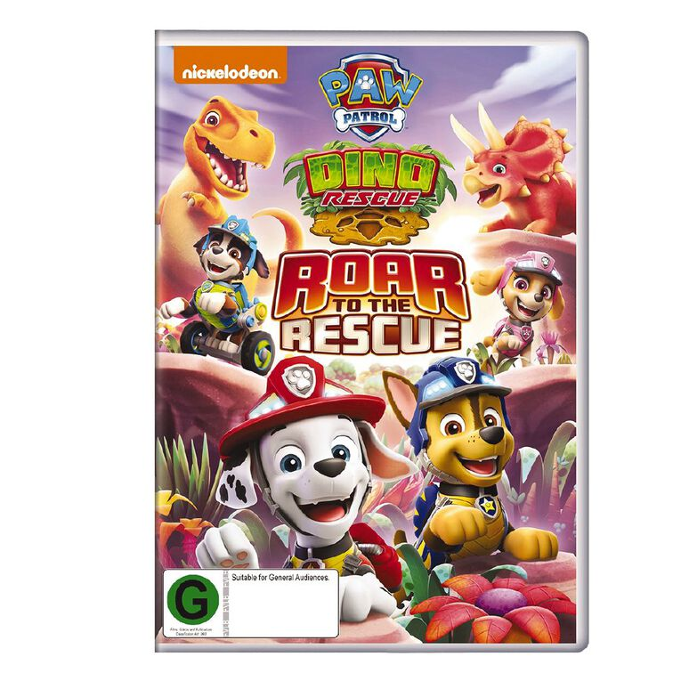 Paw Patrol: Dino Roar To The Rescue DVD 1 Disc, , hi-res