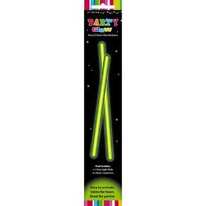 Artwrap Glow Necklace 48cm Green 2 Pack