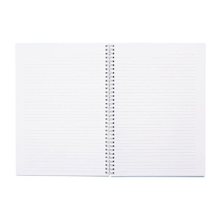 Uniti Colour Pop Notebook Hardcover Blue Light A4, , hi-res