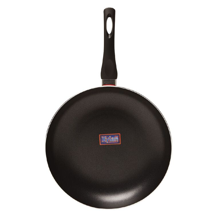 Living & Co Classic Frypan Red 30cm, , hi-res