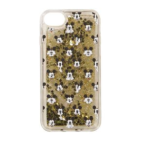 Mickey Mouse iPhone 6/7/8 Glitter Case Gold
