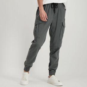 H&H Men's Woven Cargo Jogger Pants