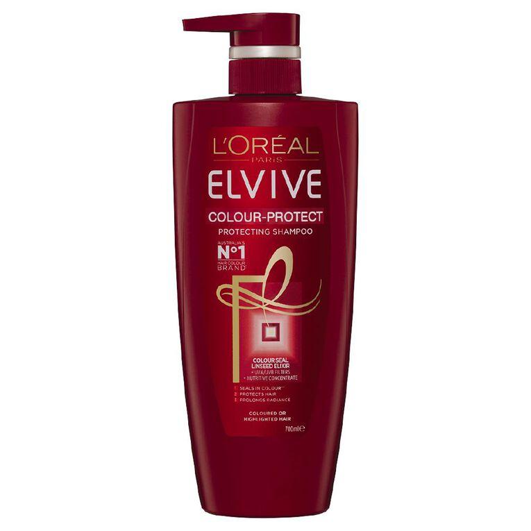 L'Oreal Paris Elvive Shampoo Colour Protect 700ml, , hi-res