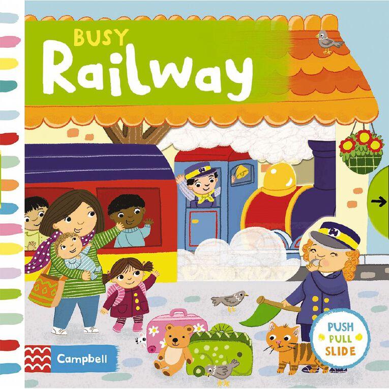 Busy Railway by Jo Byatt, , hi-res