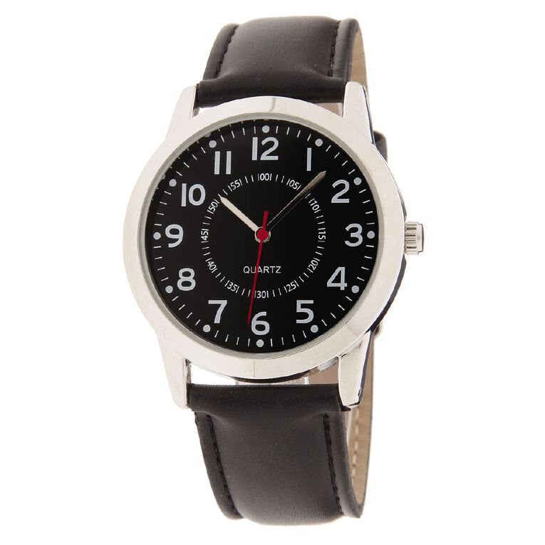 Eternity Men Analogue Watch Black, , hi-res image number null