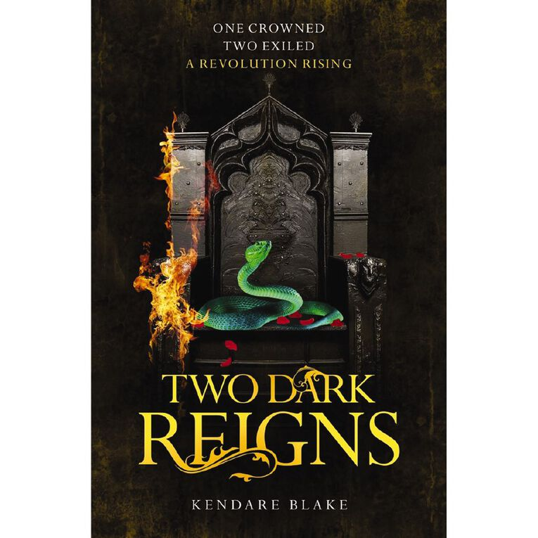 Two Dark Reigns by Kendare Blake, , hi-res image number null