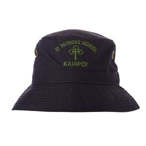 Schooltex St Patrick's Kaiapoi Bucket Hat with Embroidery