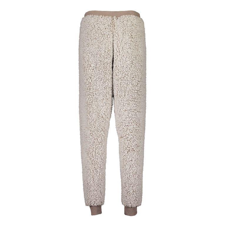 H&H Love Your Planet Women's Pyjama Pants, Brown, hi-res