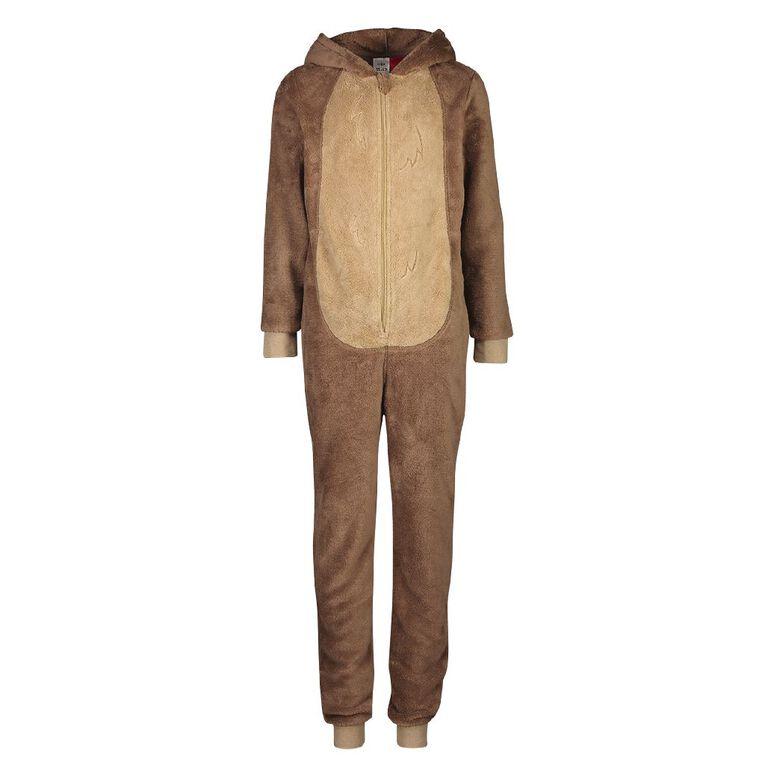 H&H Kids' Bear Onesies, Brown, hi-res