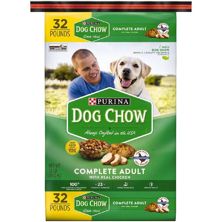 Purina Dog Chow Complete & Balanced 14.5Kg, , hi-res