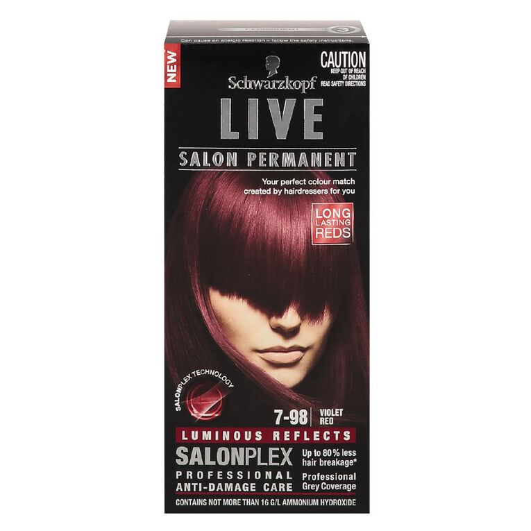 Schwarzkopf Live Salon Permanent 7-98 Violet Red, , hi-res