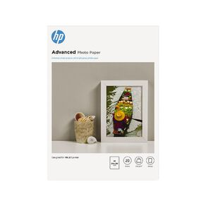 HP Advanced Glossy FCS Photo Paper A4 20 Sheet