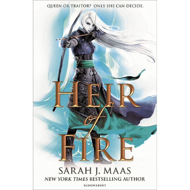 Throne of Glass #3 Heir of Fire by Sarah J Maas, , hi-res