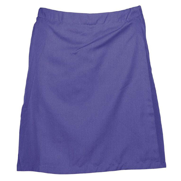 Schooltex 1/2 Elastic Zip Pocket Skort, Royal, hi-res