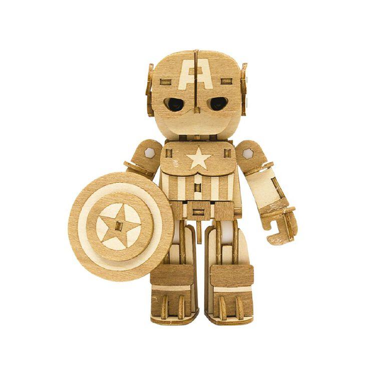 Marvel Incredibuilds Incredibots Marvel Captain America 3D, , hi-res