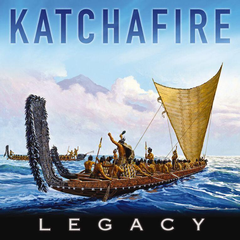 Legacy CD by Katchafire 1Disc, , hi-res