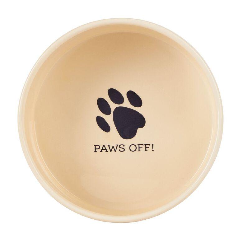 Petzone Ceramic Dog Bowl Large, , hi-res image number null