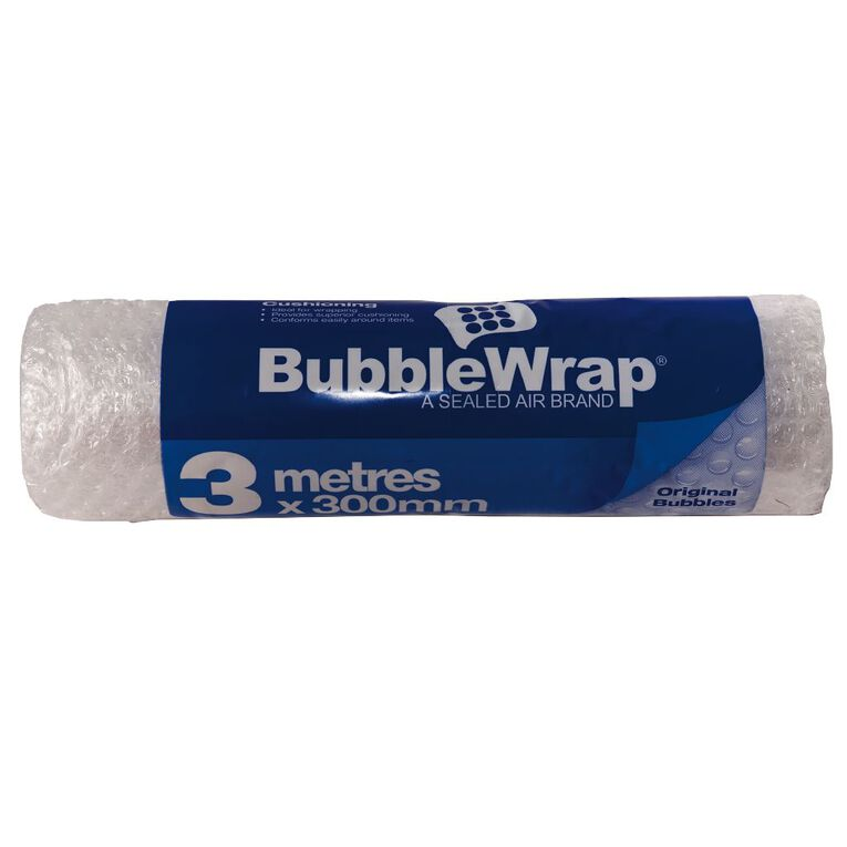 Bubble Wrap Roll 300mm x 3m Clear, , hi-res image number null