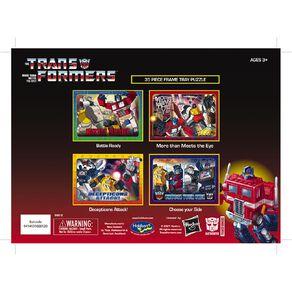 Transformers 35 Piece Frametray Puzzle Assortment