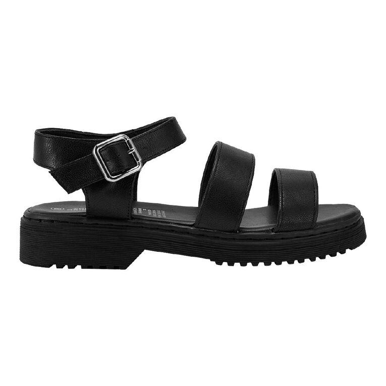Young Original Subtract Senior Sandals, Black, hi-res