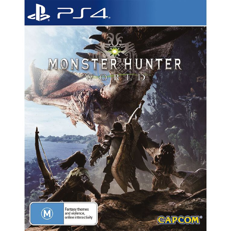 PS4 Monster Hunter World, , hi-res