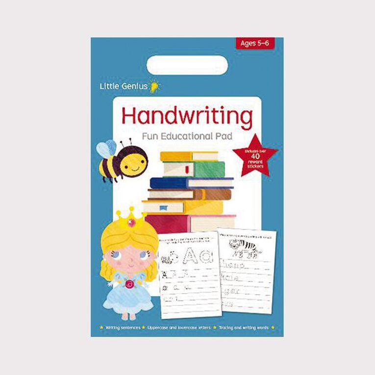 Little Genius Small Pad: Writing (5-6), , hi-res