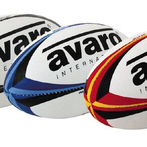 Avaro Rugby Ball Mini Assorted One Size