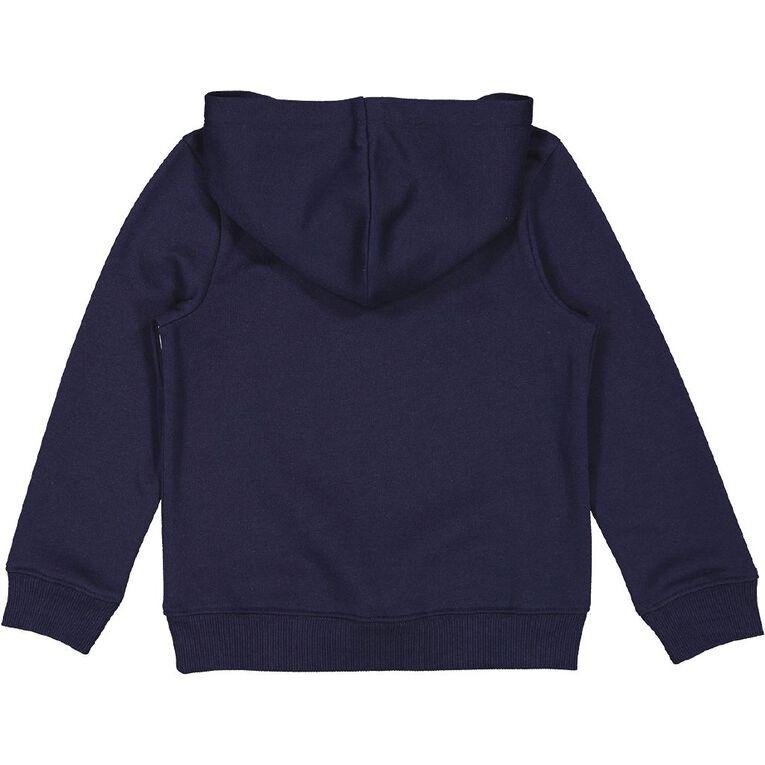 Young Original Pullover Hooded Print Sweatshirt, Blue Dark, hi-res