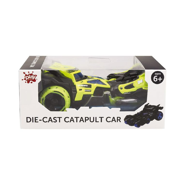 Play Studio 1:32 Die-cast Catapult Car With Light And Music Assorted, , hi-res
