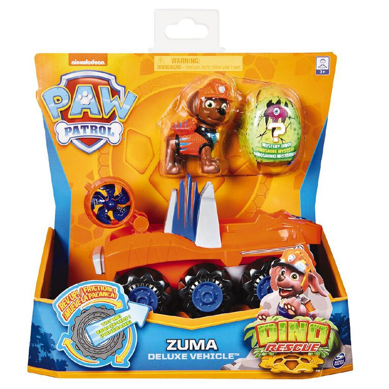 Paw Patrol Dino Deluxe Themed Vehicles, , hi-res